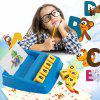 Funny Matching Letter Educational Puzzle Toy - BLUE ORCHID