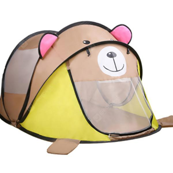 Non-toxic Cartoon Portable Puzzle Space Play Tent Toy