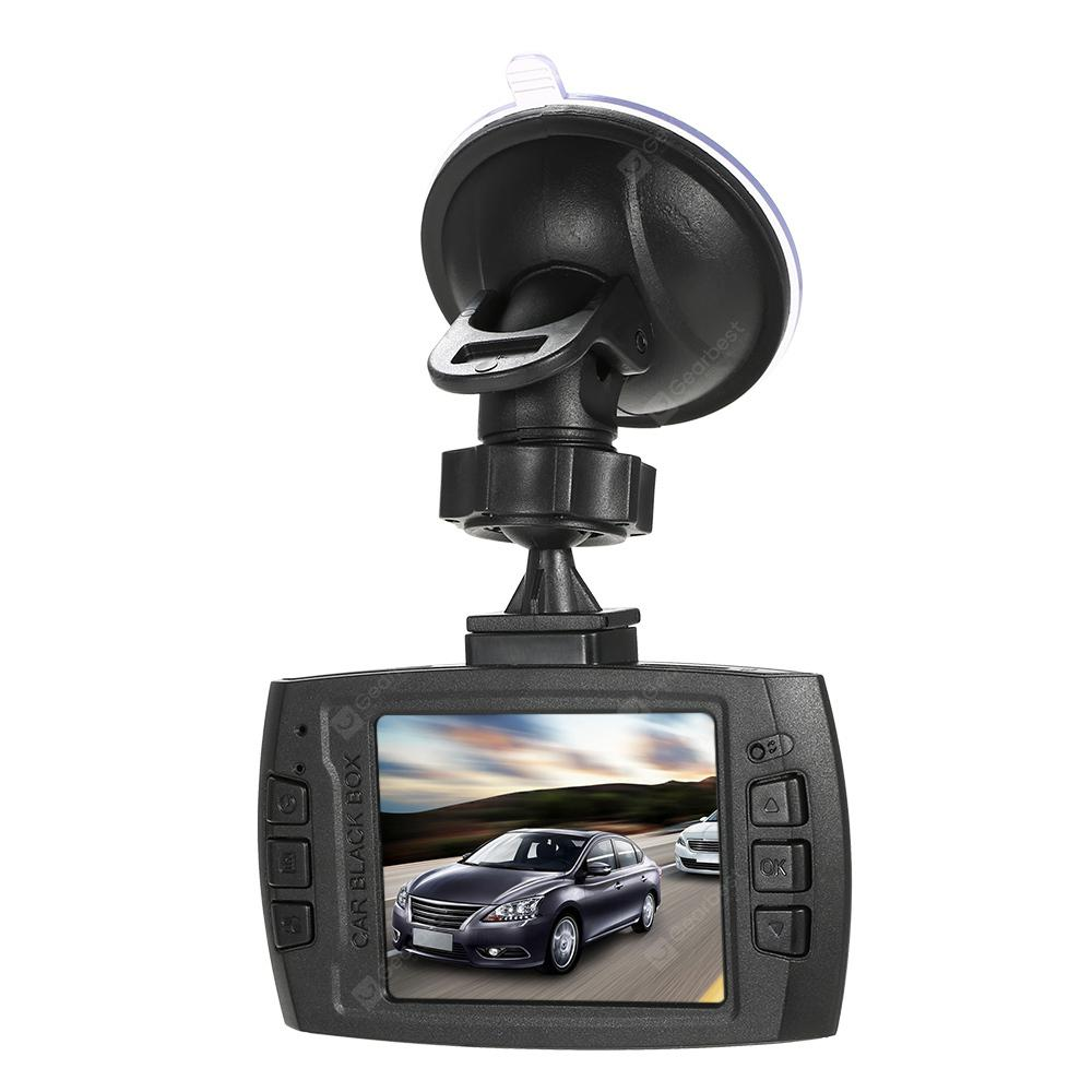 V300 Full HD 1080P 2.4 inch TFT LCD Display Car DVR Dash Camera - Black