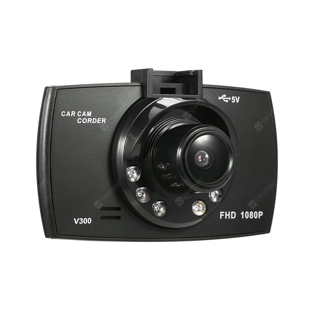 Gearbest V300 Full HD 1080P 2.4 inch TFT LCD Display Car DVR Dash Camera