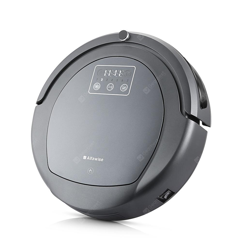Alfawise ZK8077 Robotic Vacuum Cleaner Virtual Blocker - GRAY