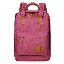Couple Trendy Anti-scraping Durable Backpack