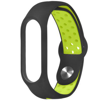 Silicone Replacement Wrist Strap Watchband for Xiaomi Mi Band 3