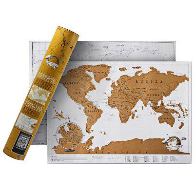Mini World Map for Home Decoration
