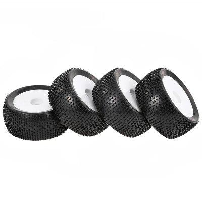 Monster Truck Tyre with Nail Point Tread Pattern 4PCS