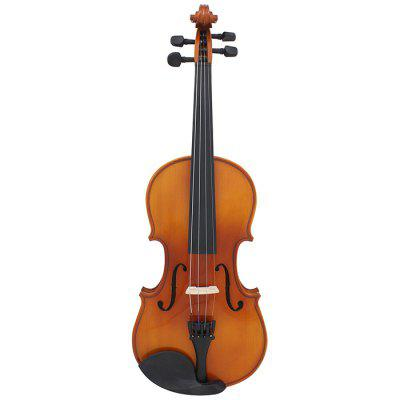 ASTONVILLA AV - 03 3/4 Solid Wood Bright Color Violin