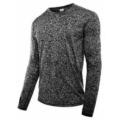 Men Breathable Sports Long Sleeve Shirt