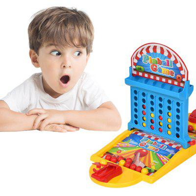 2 in 1 Desktop Shooting Balls Connect Four Board Game