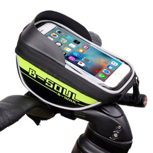 B-SOUL Bicycle Bike Front Top Tube Frame Bag Touch Screen Cell Phone Holder Case