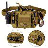 Outdoor Bike Travel Climming Running Casual Waist Bag - CAMEL BROWN
