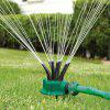 360-degree Irrigation Watering Sprinkler Pack - PINE GREEN