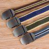 Canvas Belt with Automatic Buckle for Men - MULTI-D
