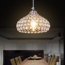 Cd7001 1 Simple Style Crystal Chandelier Light