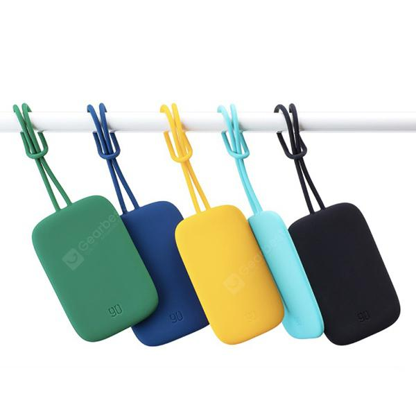90FUN Silicone Luggage Tag from Xiaomi Youpin - BLACK