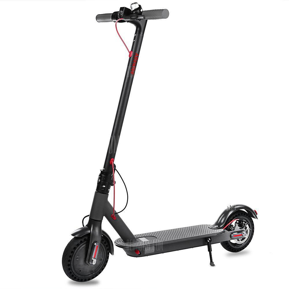Alfawise T0 Shockproof Folding Electric Scooter - BLACK en stock