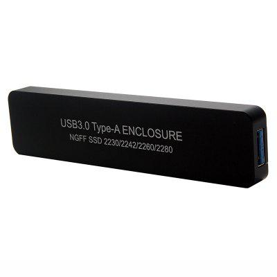 USB3.0 to M.2 Mobile Hard Disk Enclosure for SSD