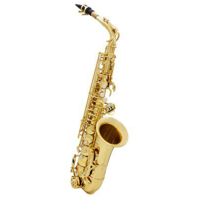 SLADE E Brass Alto Saxophone Musical Instrument tenor saxophone instrument 54 selmer b flat saxophone tenor antique copper free shipping sound quality promotions sax