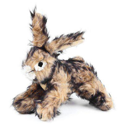 Squeaky Rabbit Toy for Pet