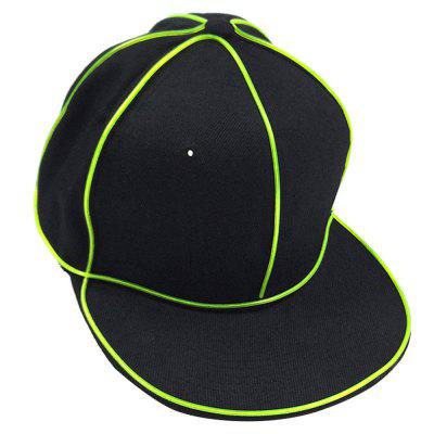 Elegante cappellino da baseball Hip-pop EL luminoso
