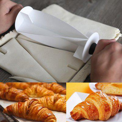 Croissant Cutter Roller Slices Rolling Pin