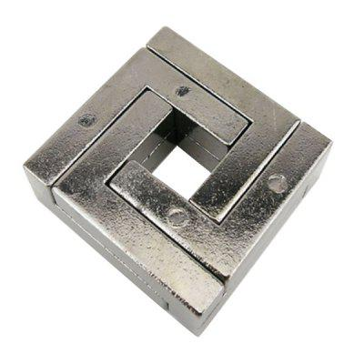Zinc Alloy Intellectual Puzzle Teaser Lock Educational Toy