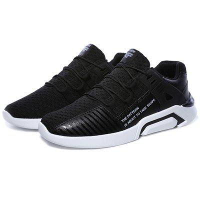 Homens Respirável Running Casual Mesh Sneakers