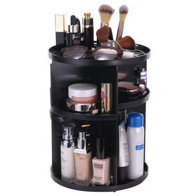Rotating Cosmetic Storage Box for Home Organization