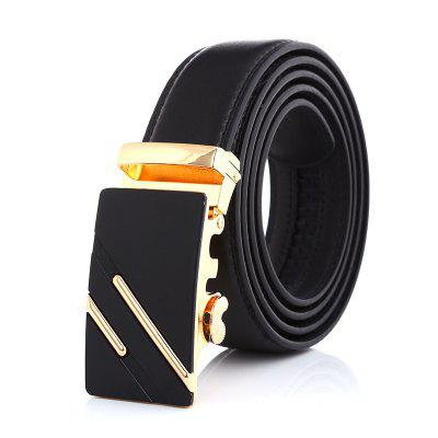 Men Business Fashion Automatic Buckle Belt