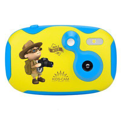 Amkov CD - DF 2MP 1.44 inch Mini Cute Kids Digital Camera