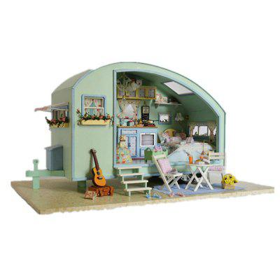 Creative DIY Jigsaw Puzzle Hand-assembled Small Room