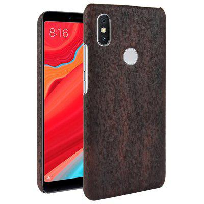 Luanke Wood Grain Phone Back Case para Xiaomi Mi A2 Lite