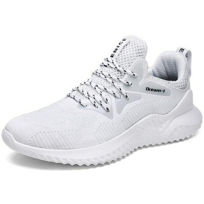 Homens na moda Lace-up Anti-skid Casual Sneakers