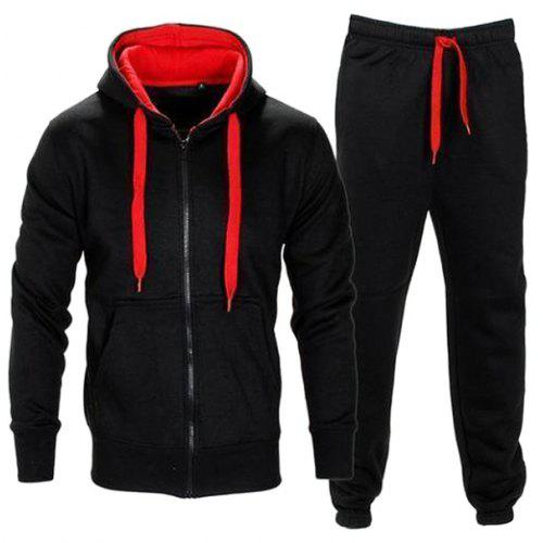 67f00183501 Fashion Long Sleeve Hoodie Pants Set