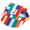 MD - 180624067 Pet Baseball Cap for Dogs - RED