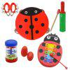 Creative Musical Instrument Toy for Kid 10PCS - MULTI-A