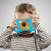Amkov CD - EW 1.77 inch WiFi 5MP Mini Kids Digital Camera - DODGER BLUE