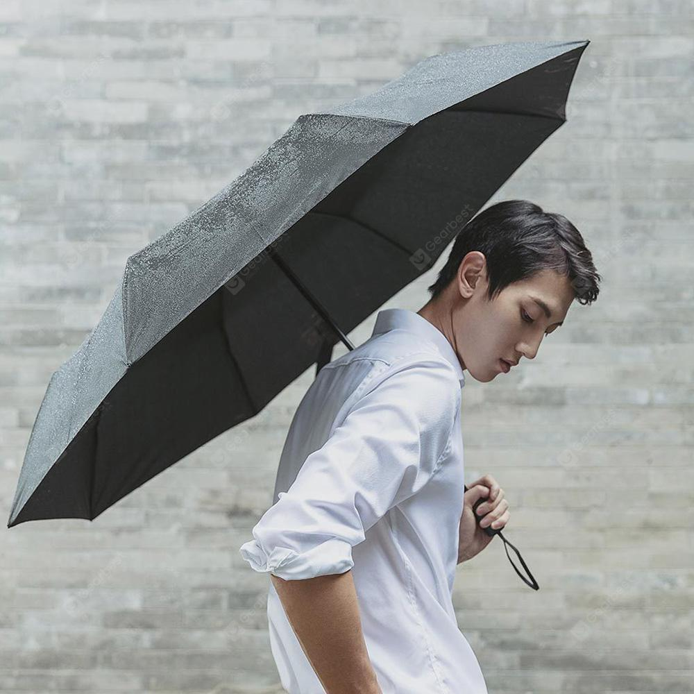90FUN Waterproof Rainy Sunny Umbrella from Xiaomi Youpin - BLACK