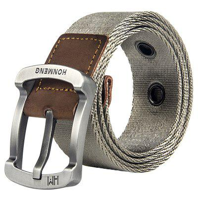 Men Canvas Nylon Belt