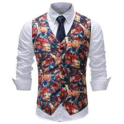 Man Formal Wear Wedding Suit Waistcoat