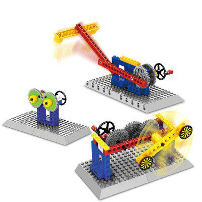 WANGE Mechanical Building Building Block Toy Set per l'intrattenimento