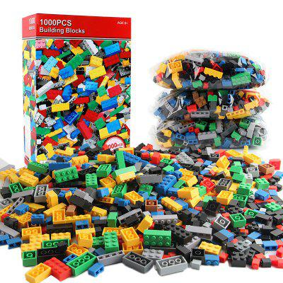 1000 Pieces Building Blocks DIY Legoings City Creative Bricks Toy Model Educational Bulk Toys for Children Birthday Gift loz micro blocks how to train your dragon diy building bricks night fury 3d auction figure micro blocks kids toys boys gifts
