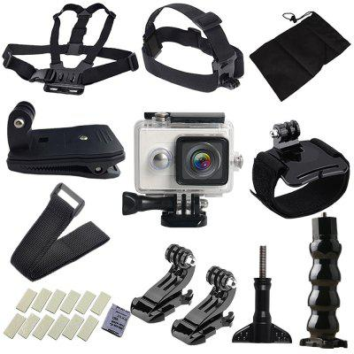 Outdoor Action Camera Accessories Kit for YI Sport Cameras