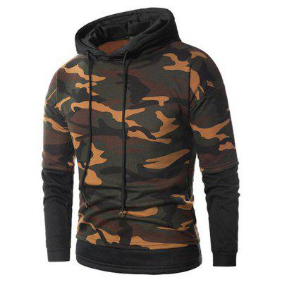 Fashionable Camouflage Thick Hoodie for Men