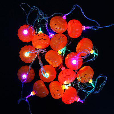 221 - 1A String Light LED a forma di zucca