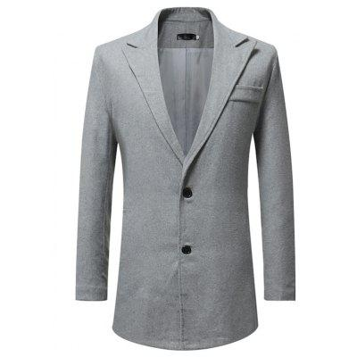 Casual Long Suit Jacket for Men