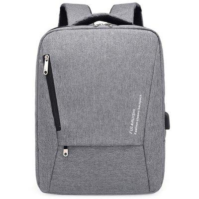 Large Capacity Practical USB Port Backpack