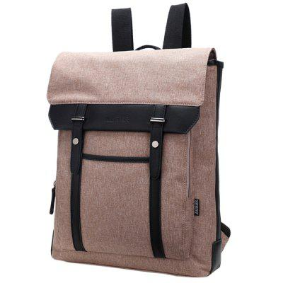 AUGUR 6075 New Vintage British Style Nylon / 15-inch Computer Backpack for Leisure / Travel