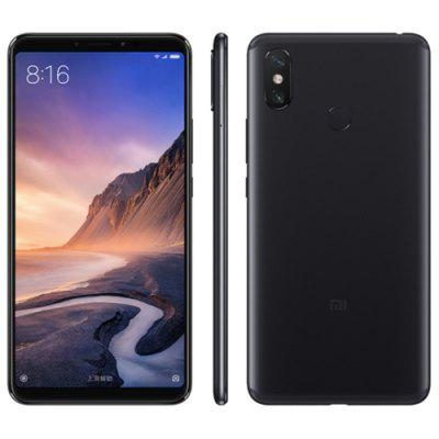 Gearbest Xiaomi Mi Max 3 4G Phablet Global Version - BLACK 4GB RAM 64GB ROM 12.0MP + 5.0MP Rear Camera Fingerprint Sensor