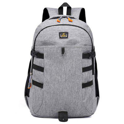 Casual Large Capacity Oxford Fabric Backpack
