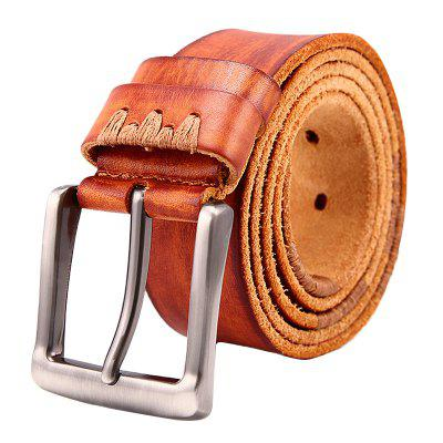 JOYIR Homens Classic Exquisite Leather Buckle Belt